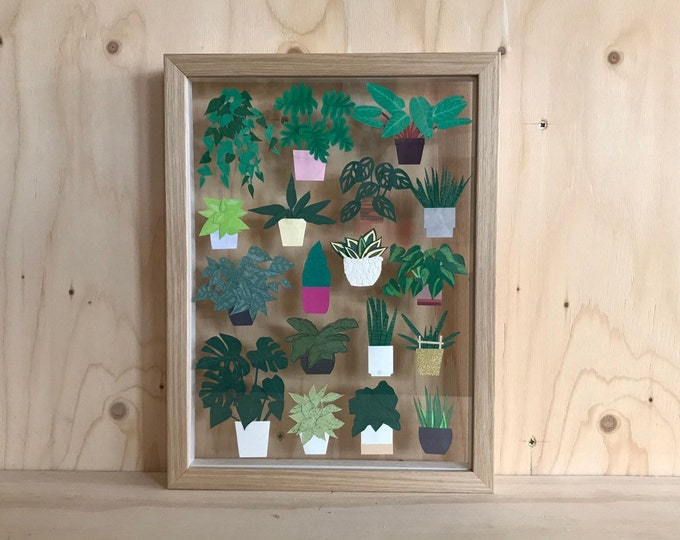 Featured listing image: Paper Plants Framed Art
