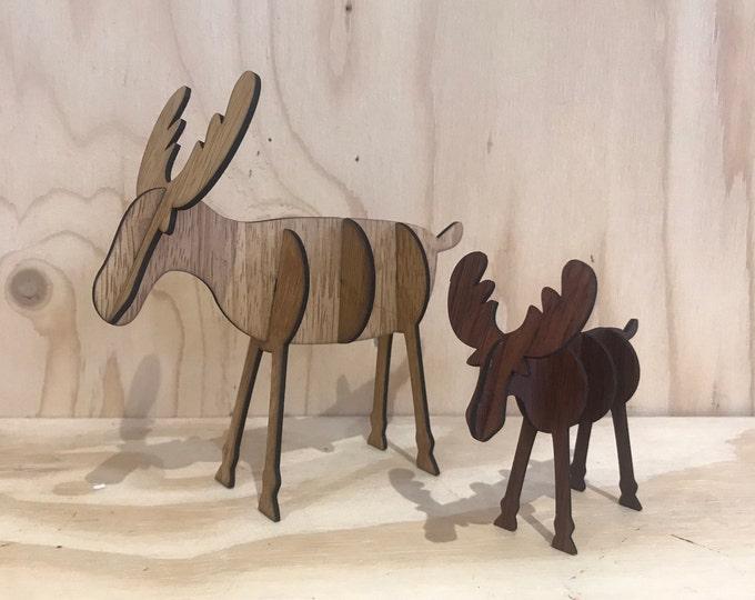 Wooden christmas reindeer, DIY christmas decorations