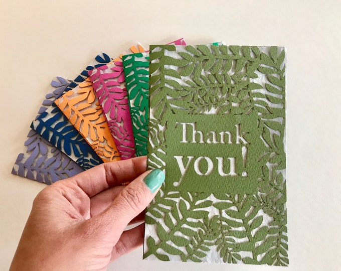 Thank you seed card, eco seed paper
