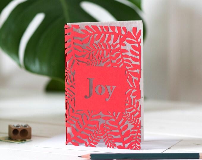 Christmas seed planting card, eco card