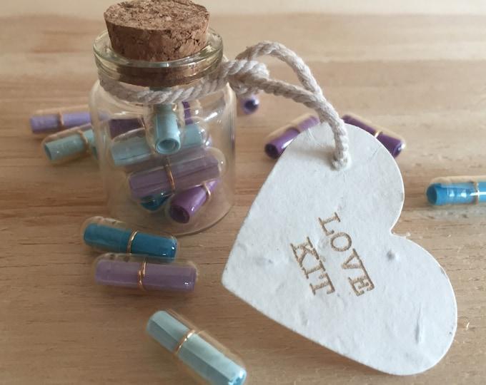 Secret encouragement love notes, secret message,