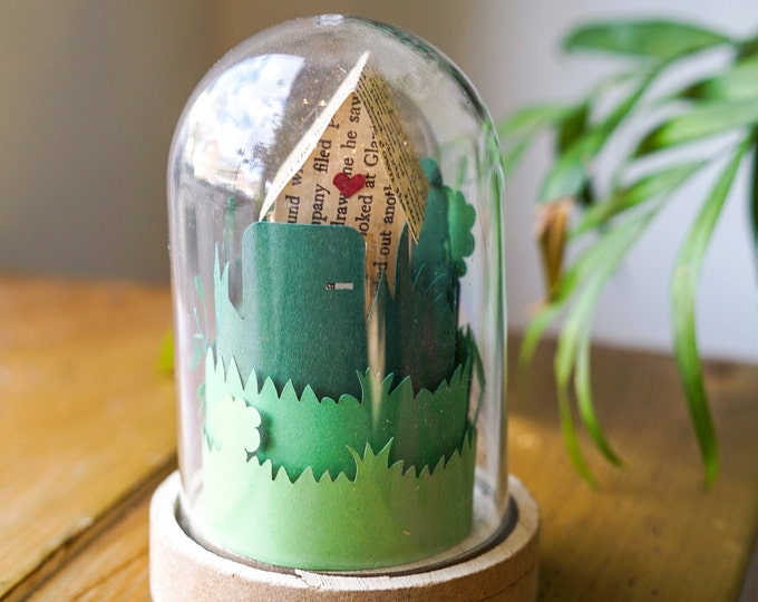DIY paper craft kit forest, paper craft kit for adults - no tools