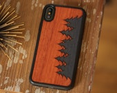 iPhone X / XS Wood Phone Case, Phone Case Made From Wood, Wood Phone Case iPhone X / XS