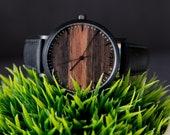 Wood Watch Engraved, Wood Watch men, Personalized Wood Watch Men's, Gifts For Him, Men's Gift - CSTM-HELM-SB