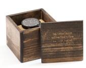 Watch Box, Wood Watch Box, Personalized Wood Watch Box, Gift For Dad, Custom Wood Watch Box