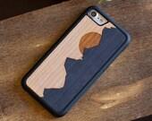 iPhone XR Case, iPhone XR Wood Case, iPhone Wood Phone Case, Grand Teton Case