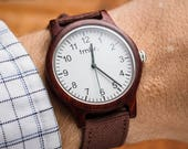Personalized Watch, Personalized Gift For Men, Personalized Wood Watch, Wooden Watch