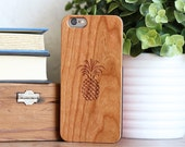 Real Wood iPhone 6 Case - Cherry Wood iPhone 6 Case - CBC6-PINEAPPLE