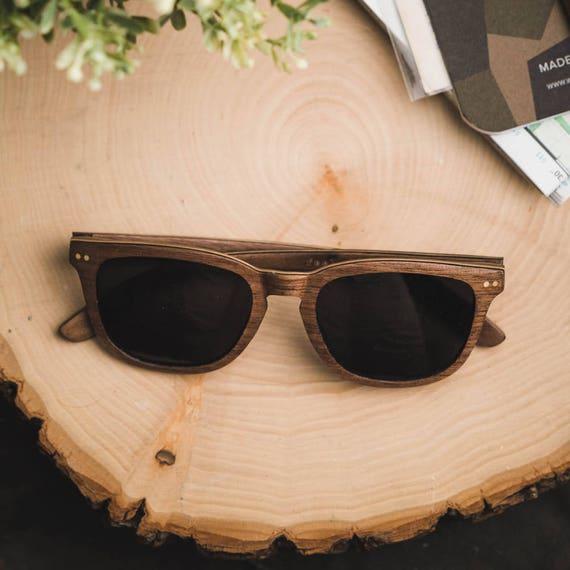 fb1ad09d76d Walnut   Maple Wood Frame Sunglasses Polarized Men s Wood