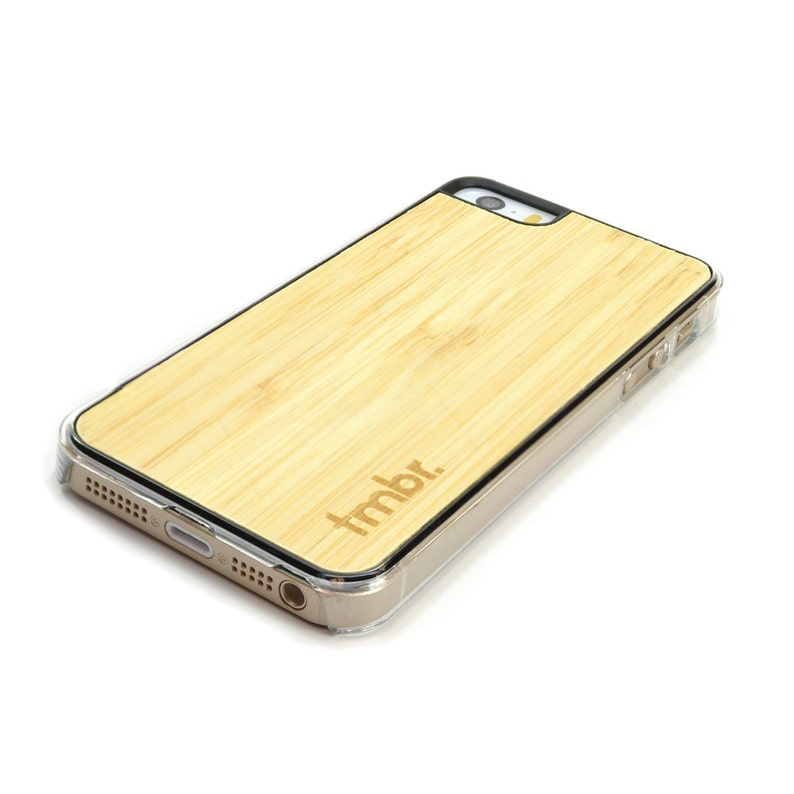 CLRB5 Bamboo iPhone 5 Case Bamboo iPhone 5S Clear Case Free Shipping US