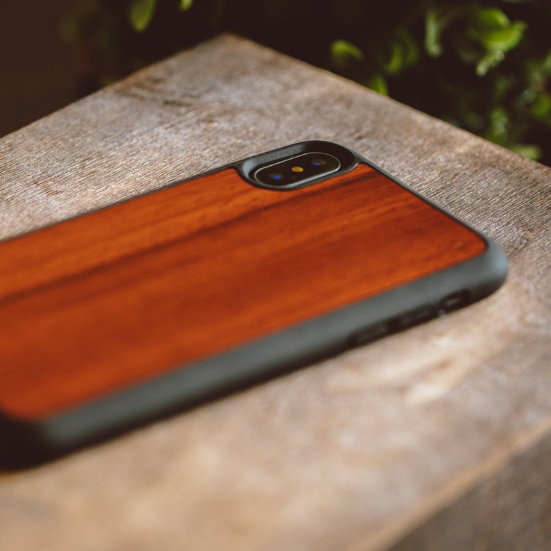 wooden iphone xs case