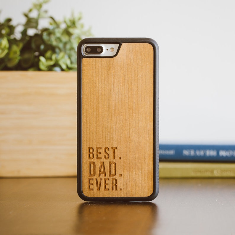 d699065cd6 Best Dad Ever Phone Case Fathers Day Gift iPhone X Case | Etsy