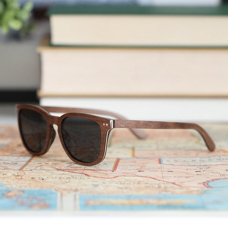 d70d49dfc86 Wood Frame Sunglasses Walnut   Maple Wood Polarized