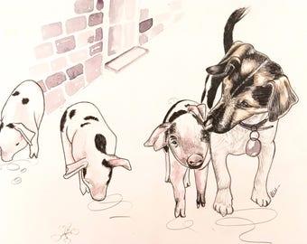 Custom Pet/Animal Illustration