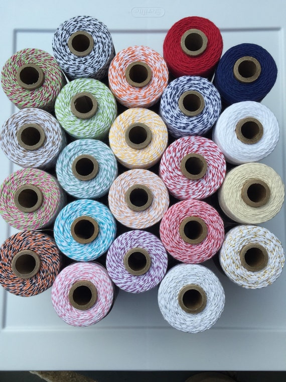 Divine Twine Baker's Twine Cotton Twine  Choose Number of