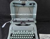 Professionally Refurbished 1959 Hermes 3000 Portable Typewriter W Warr Pica
