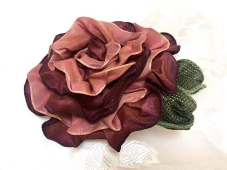 Grey Floral Rose Flower Feather Pillbox Hat Hair Fascinator Races Wedding 5760