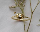 Diamond Star Ring, Gold Celestial Ring, Gold Star Ring, Gold Diamond Star Ring, Starburst Ring