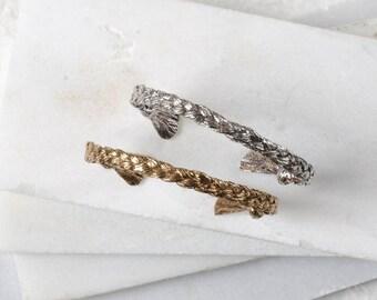 Nature Engagement Ring, Mountain Engagement Ring, Mountain Ring, Diamond Mountain Ring, Mountain Wedding Ring (High Version)