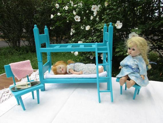 Etagenbett Für Puppen : Scrap holz etagenbett für american girl oder zoll puppe gunook