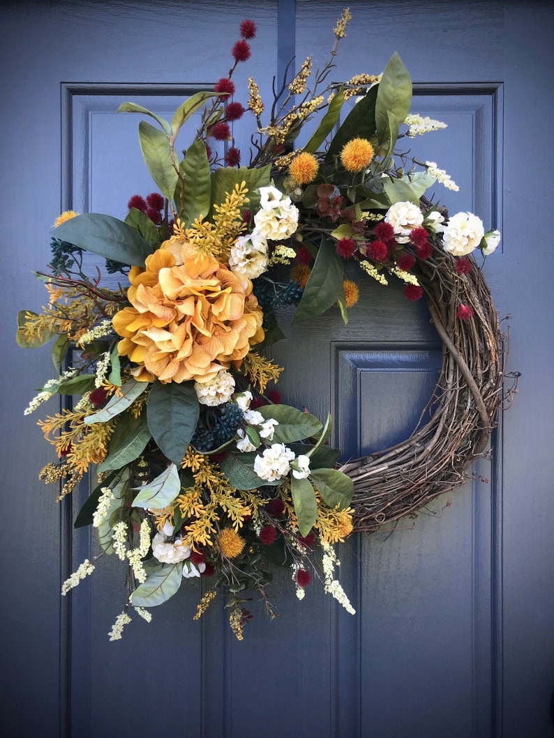 Fall Wreaths Fall Wreath Fall Door Decor Fall Gift Ideas for image 0