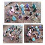 Sterling Silver Ring, Gemstone Ring, Vintage Ring, Boho Ring, Bohemian Jewelry