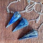 Gemstone Pendulums, Crystal Pendulum, Divination, Faceted pendulum,Reiki, Fengshui, Crystal Healing, Psychic, Intuitive
