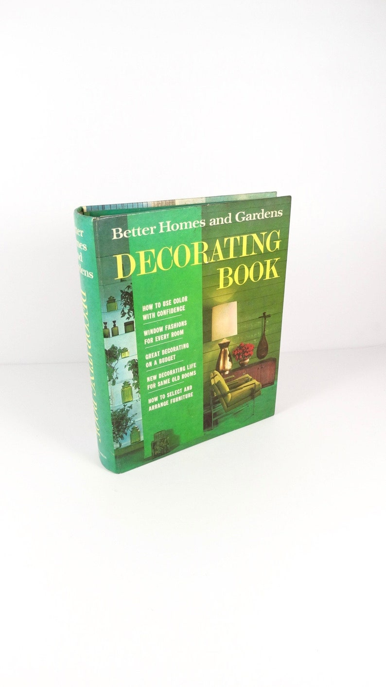 Better Homes And Gardens Decorating Book Midcentury 1968 Home