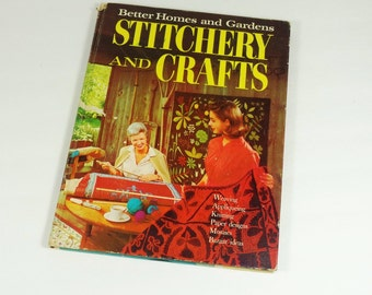 1966 Stitchery and Crafts Book - BH&G - 1960s Crafts Book