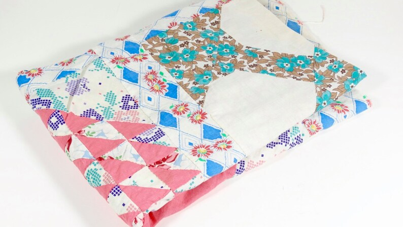 Vintage Tree Of Paradise Twin Or Large Crib Quilt Top 1930s Etsy