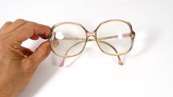 70s Vintage Avant-Garde Eyeglass Frames 1970s Glas