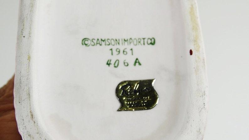 Baby Bootie Vintage Vase Planter 1961