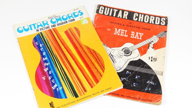 1959 Guitar Chords Booklets Mel Bay Publications Beginner Etsy