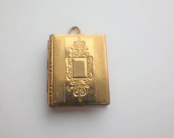 Vintage Book Locket