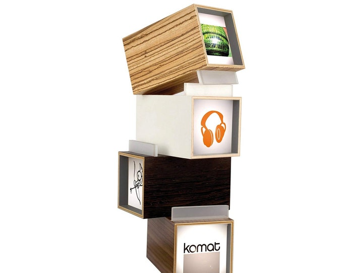 Minikomat Light Box - White - to present your pictures within their own perfectly illuminated frames
