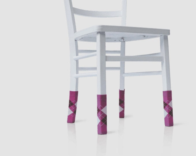 "Use as a template chair socks ""Personality socks"" parquet"
