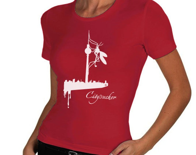 CITYSUCKER Berlin T-shirt girly