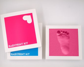 BABYPRINT Imprint Set 2 pcs. made of kicking foam