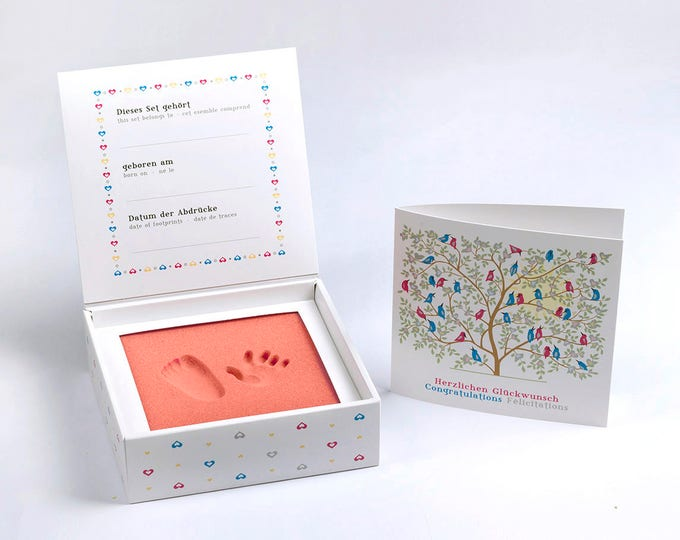 Baby's 1st Step - BABYFOOTPRINT KIT