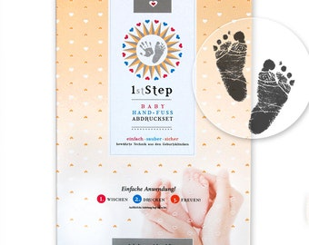 Magical BABY Hand and Foot ABDRUCKSET - Inkless Touch: without paint, without plaster, directly on special paper (5 sheets)