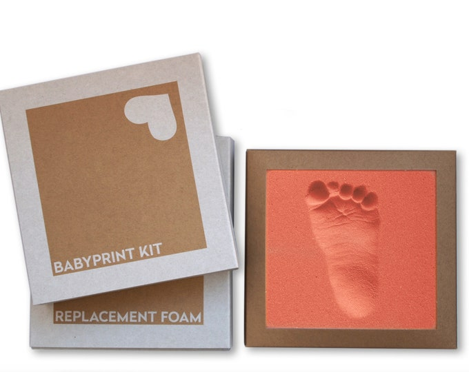 BABYPRINT Imprint Set 2 pcs. made of stepping foam