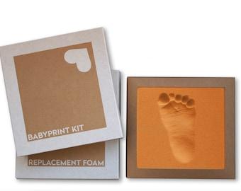 BABYPRINT Imprint Set 2 pcs. made of stepping foam