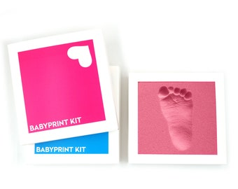 BABYPRINT KIT · in medical memory foam. quick & dafe