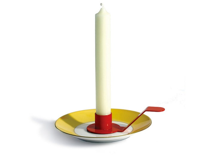 HOLDE ISOLDE Candle holder for saucers / small plates