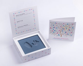 "BABYFOOTPRINT-Hand and Footprintset, ""Pink"""