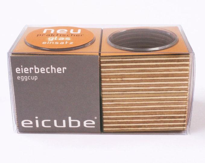 "2-set ""eicube"" egg cup & napkin holder ORANGE"