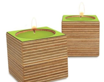 EICUBE Tea Light Holder - Set of 2