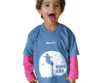 Kids Shirt - KING BÄR Round neck T-shirt with Berlin motif for children