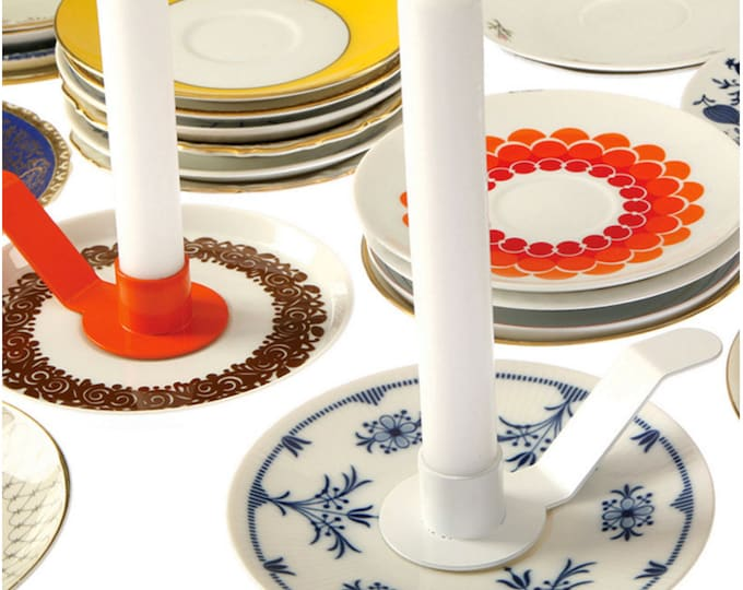 HOLDE ISOLDE · Candle holder for saucers