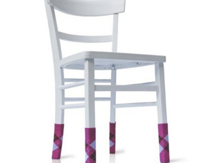 Chair socks PERSONALITY SOCKS parquet saver in classic stocking style